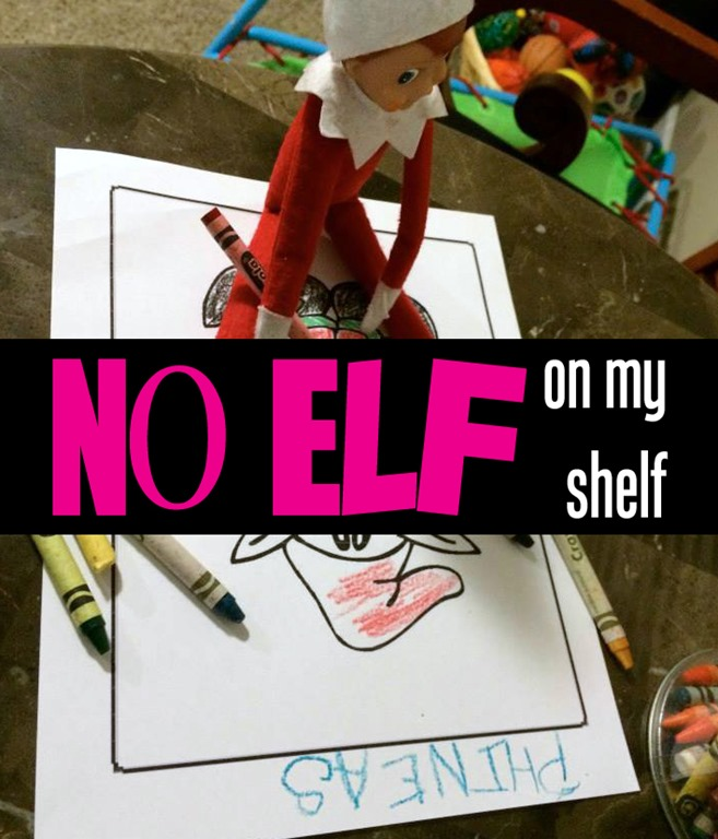No Elf On the Shelf
