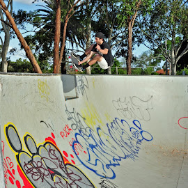 Stale over the Love-Seat! BangiN! by Matty Hill - Sports & Fitness Skateboarding