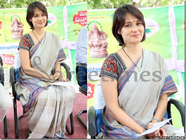 Amala_Tan_Cotton_Saree