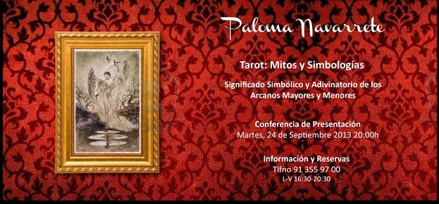Curso de Tarot Paloma Navarrete