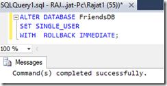 Single_User_DB