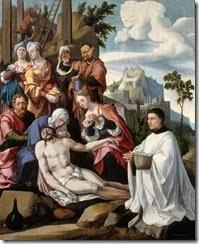 Jan van Scorel - Bewening van Christus