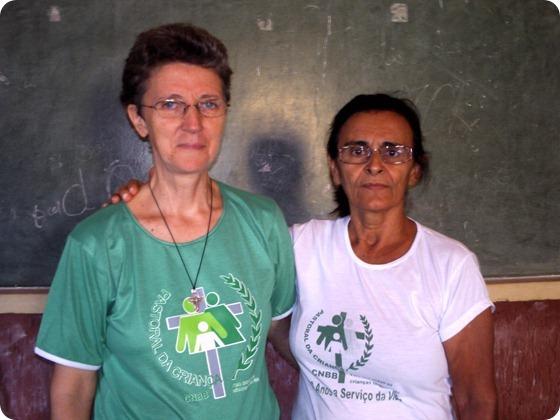 Irmã Vera coordenadora nacional da Pastoral da Criança
