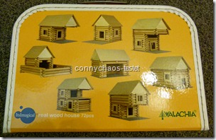 Holzbaukasten Haus