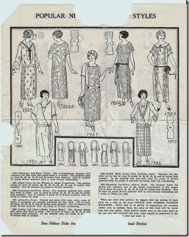 vintage patterns 001