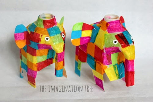 Elmer-elephant-milk-jug-craft