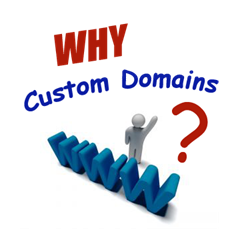 custom domains