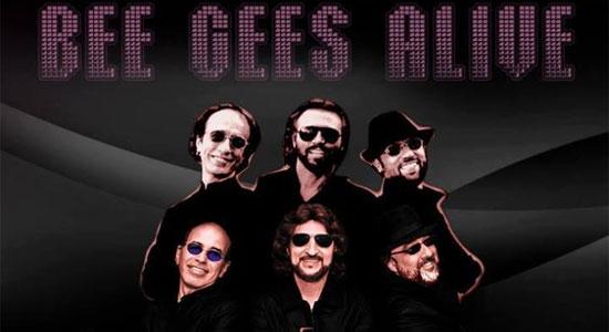 Bee Gees Alive! na sala Palma de Ouro