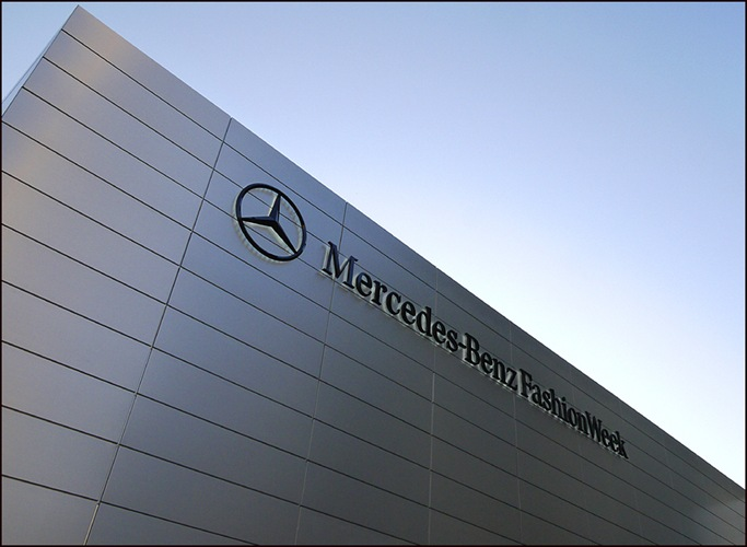 Mercedes Benz Fashion Week Pavilion front ol