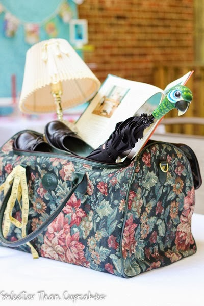 Mary Poppins Carpet Bag