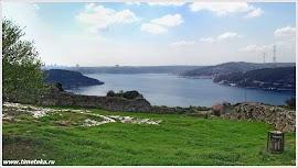 Вид на Стамбул из крепости Йорос