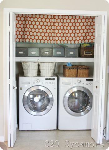 laundry closet update