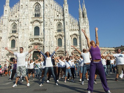 Flashmob Pausini - 4 settembre Duomo
