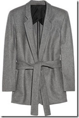 Acne blacksweet belted wool-blend blazer £340
