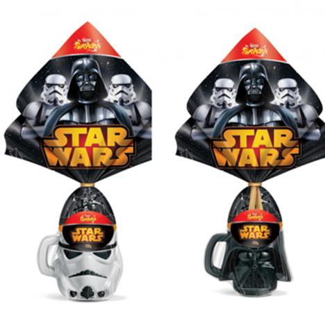 Ovos de Páscoa Star Wars