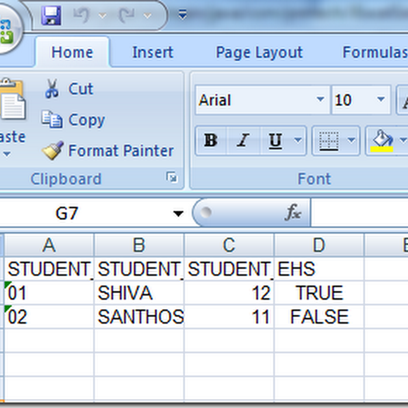 How to create Excel file using JExcel