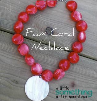 Faux Coral Banner WM