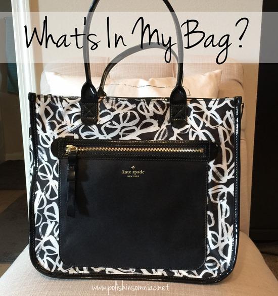 What's In My Bag - Kate Spade Jessmin