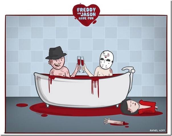 Freddy e Jason se divertindo (8)