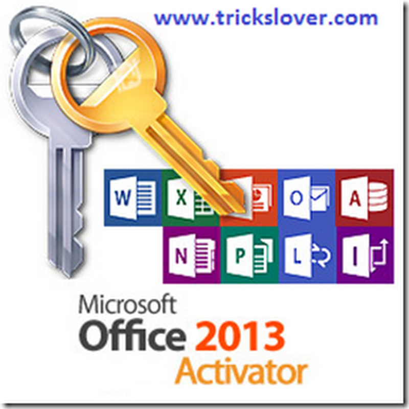 MS Office 2013 and windows 8 Genuine Activator