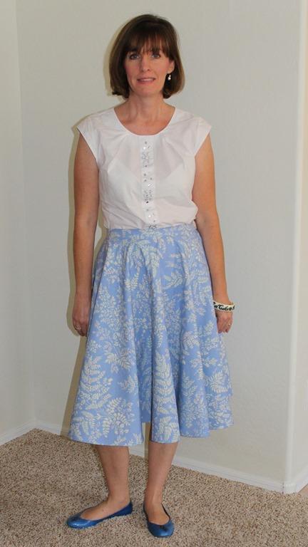 circle skirt 037-001