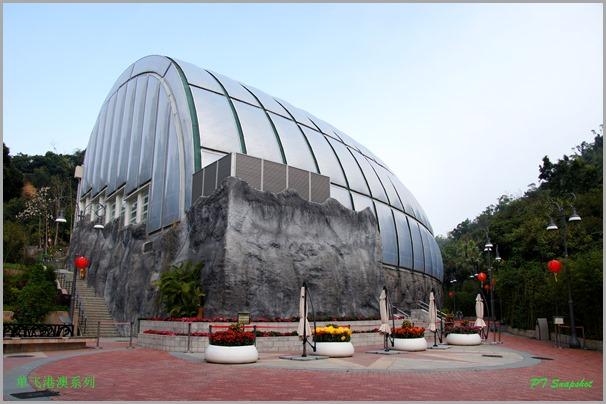 大熊猫馆的外观造型