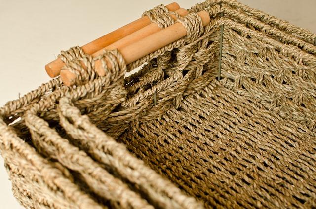 Nesting seagrass baskets - personallyandrea.com