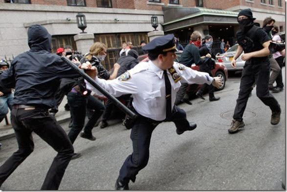 APTOPIX May Day Protests NYC