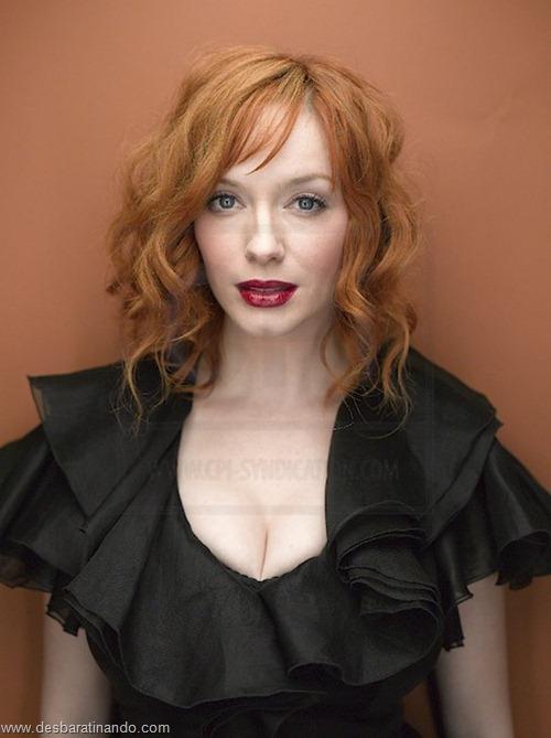 Christina Hendricks linda sensual sexy sedutora decote peito desbaratinando (16)
