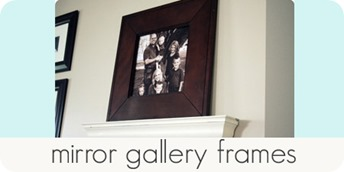 mirror gallery frames