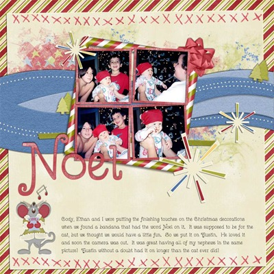 Mommy Me Time Scrapper - Dive into Christmas - Noel