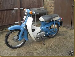Useful Motorcycle Manual Share Honda C70 1980 1982 Scooter