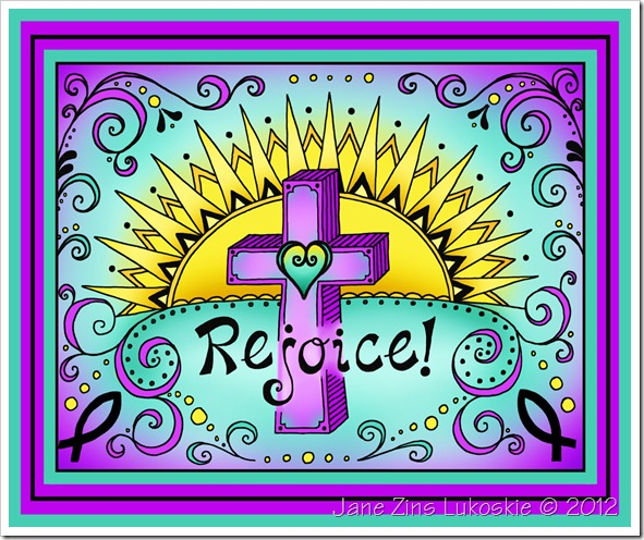 Rejoice with color for blog