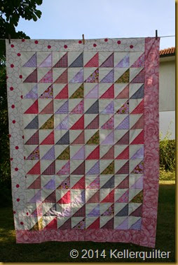 Top079-rosa Spitzen