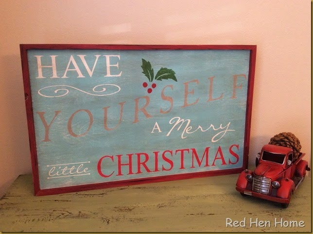 Red Hen Home Christmas Signs 4