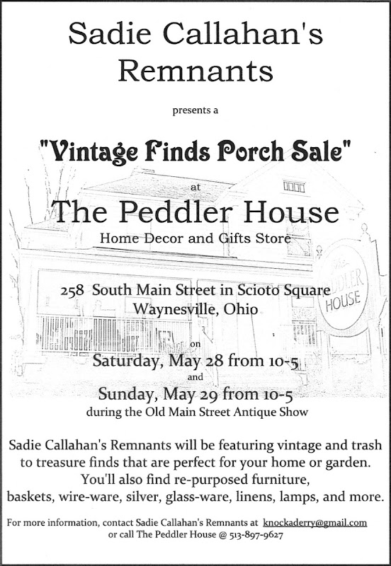 porch sale flyer
