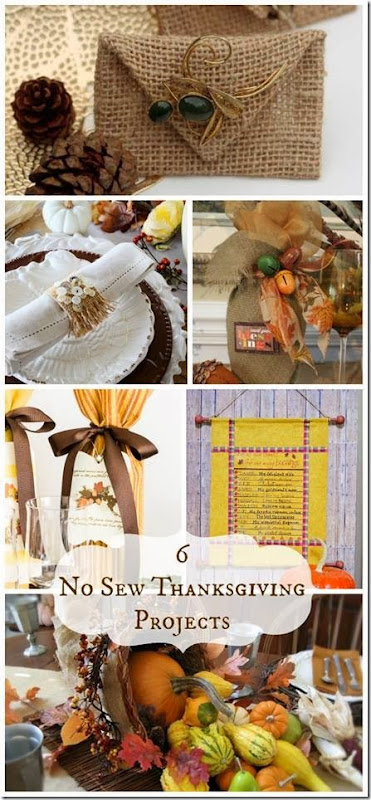 CONFESSIONS OF A PLATE ADDICT No-Sew Thanksgiving Showcase
