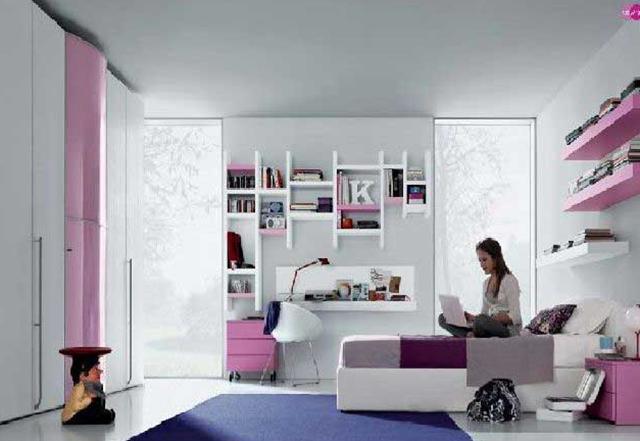 desain kamar anak perempuan remaja