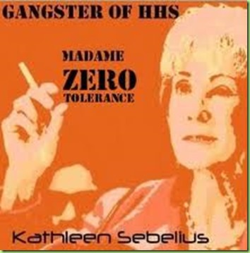 Kathleen Sebelius gangster