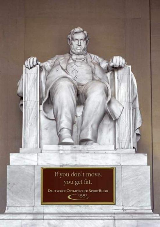 Estátuas gordas - Lincoln