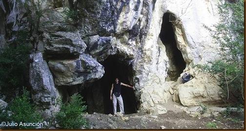 Cuevas de Artetxe - Cueva superior - Garaioa - Valle de Aézkoa