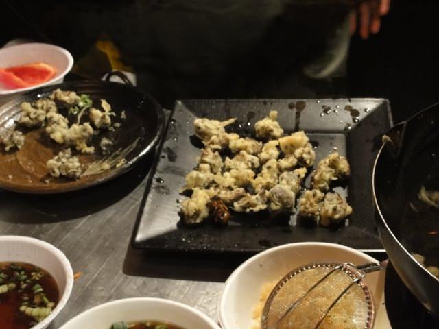 セミ天ぷら