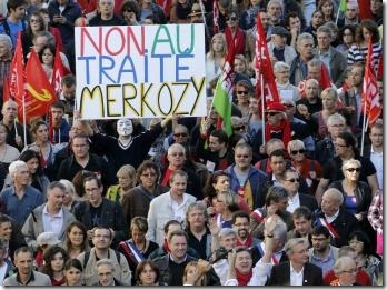 Protesto Europa