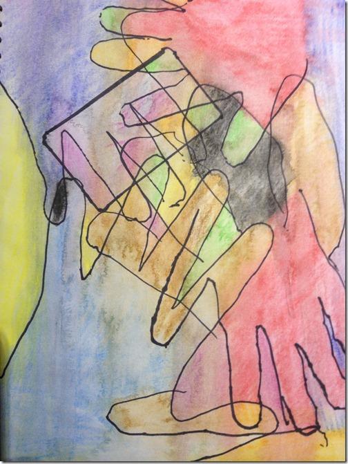 Collaborative Journalling: Hands Together