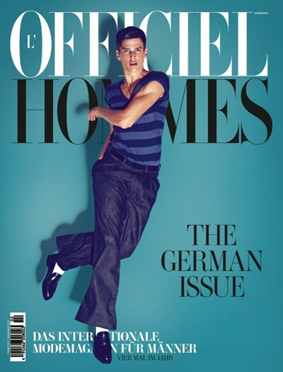 Simon Van Meervenne @ VNY by Koray Birand for L'Officiel Hommes Germany A/W 2011. Styled by Lale Aktay
