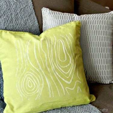 spring pillows square