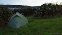 Windschutz fürs Zelt