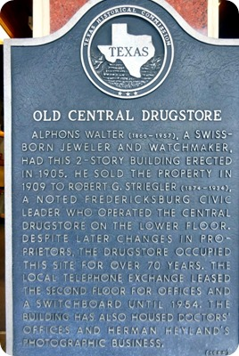 old drugstore sign