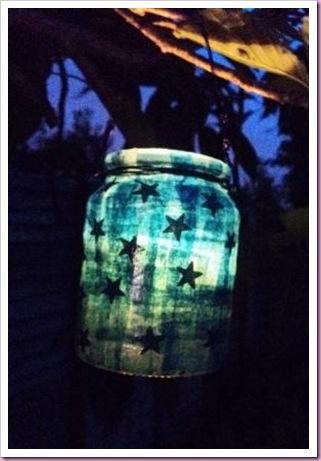 Christmas Jar Lantern