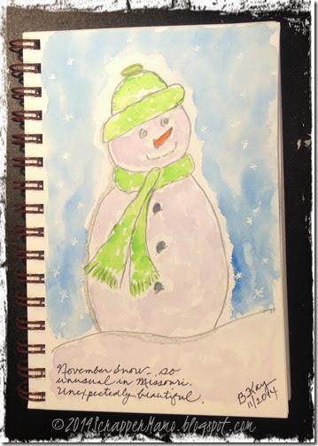 November Snowman